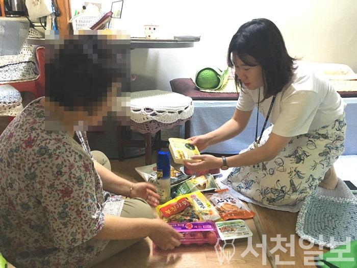 (5일) 장항읍, 건강한 여름나기'꾸러미'전달.JPG